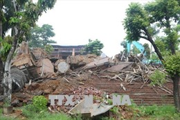 Hoàn thành cưỡng chế phá dỡ 'cung điện' trái phép tại huyện Ba Vì