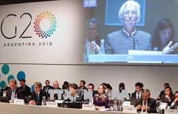 Các Bộ trưởng Tài chính G-20 lo ngại xung đột thương mại leo thang
