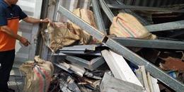 Phát hiện 100 bánh cocain trong container thép phế liệu nhập khẩu