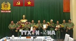 Công an Thành phố Hồ Chí Minh được khen thưởng về chiến công triệt phá tổ chức khủng bố