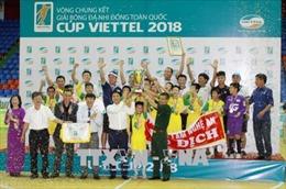 U11 SLNA vô địch Giải bóng đá Nhi đồng toàn quốc tranh cúp Viettel