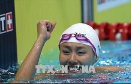 ASIAD 2018: Liu Xiang của Trung Quốc phá kỷ lục thế giới bơi ngửa 50 mét của nữ