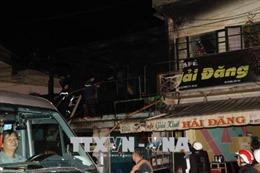 Hỏa hoạn thiêu rụi hai căn nhà liền kề gần ga tàu du lịch ở Đà Lạt