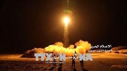 Saudi Arabia đánh chặn thành công tên lửa của phiến quân Houthi tại Yemen
