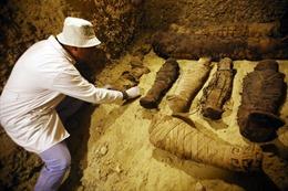 Ai Cập phát hiện khu mộ cổ lớn với 50 xác ướp từ trước Công nguyên