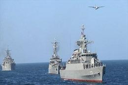 Hải quân Iran tập trận trên biển Caspia