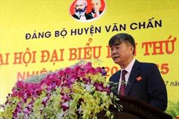 Đại hội đại biểu Đảng bộ huyện Văn Chấn