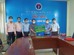 Quảng Ngãi: Ngân hàng Chính sách xã hội ủng hộ phòng chống dịch COVID-19