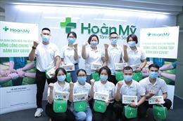 Trên 100 nhân viên Tập đoàn Y khoa Hoàn Mỹ tình nguyện tham gia chống COVID-19