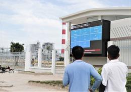 Nhà máy Nhiệt điện Vĩnh Tân 2: Minh bạch thông số môi trường bằng bảng điện tử