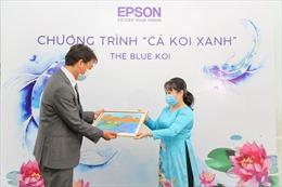 Epson Việt Nam dùng công nghệ lan toả tinh thần khuyến học