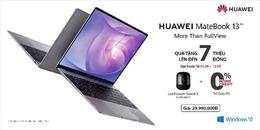 Laptop cao cấp Huawei Matebook 13 chính thức ra mắt tại Việt Nam với giá 29.990.000