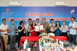 Tập đoàn Hương Sen bàn giao nhà máy nước giải khát cho Công ty Cổ phần Pushmax