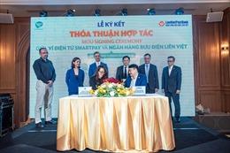 SmartNet và LienViet Post Bank ký kết hợp tác song phương về ví điện tử, kiều hối