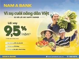 Nam A Bank dành nhiều ưu đãi cho vay nông nghiệp nông thôn