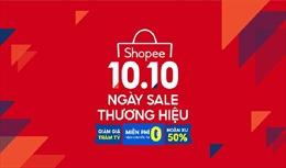 Shopee tăng cường hỗ trợ doanh nghiệp sự kiện 10.10 Ngày sale thương hiệu