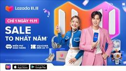 Lee Min Ho đồng hành cùng Lazada trong Lễ hội mua sắm 11.11