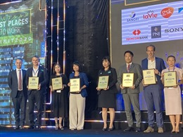 Sanofi Việt Nam liên tiếp lọt Top 100 nơi làm việc tốt nhất Việt Nam