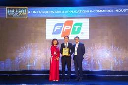 FPT vào Top 50 thương hiệu nhà tuyển dụng hấp dẫn nhất 2020