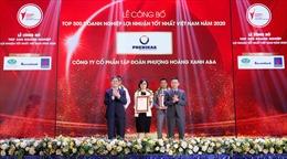 Tập đoàn Phenikaa và Vicostone được vinh danh Top 500 DN lợi nhuận tốt nhất