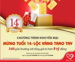 """Dai-ichi Life Việt Nam triển khai chương trình khuyến mại """"Mừng tuổi 14 – Lộc vàng trao tay"""""""