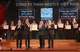 Nestlé Việt Nam được vinh danh Top 30 đơn vị nộp thuế tiêu biểu