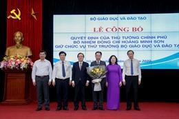Công bố Quyết định bổ nhiệm Thứ trưởng Bộ GD&ĐT Hoàng Minh Sơn