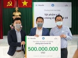 Manulife Việt Nam đóng góp gần 3.5 tỷ đồng vật phẩm y tế cho tuyến đầu chống dịch