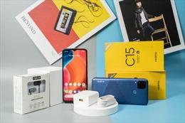 Realme C15 chính thức ra mắt tại Việt Nam với giá 4.190.000 đồng