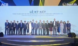 Ngân hàng ACB và  Sun Life Việt Nam ký thỏa thuận hợp tác độc quyền