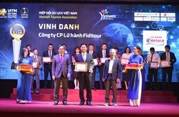 Lữ hành Fiditour đạt nhiều giải thưởng tại Lễ vinh danh các cá nhân, doanh nghiệp tiêu biểu năm 2019