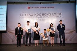 Lễ trao học bổng thường niên LOTTE năm 2020