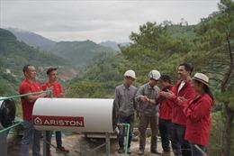 Ariston mang sự thoải mái tới hơn 1.000 học sinh Hoàng Su Phì