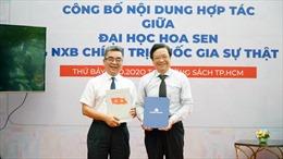 Trường ĐH Hoa Sen hợp tác chiến lược với NXB Chính trị Quốc gia Sự thật
