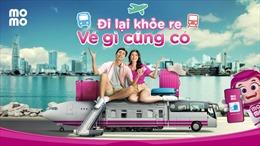 """Ví MoMo chính thức ra mắt tính năng """"Du lịch - Đi lại"""""""