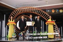 Ngân hàng Shinhan lọt Top 100 DN bền vững năm 2020
