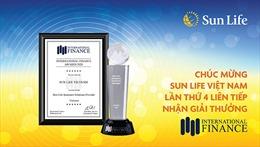 Sun Life Việt Nam lần thứ 4 nhận giải thưởng từ Tạp chí Tài chính Quốc Tế