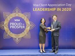 Ngân hàng Shinhan đón nhận ba giải thưởng từ Visa