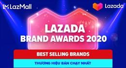 Lazada Việt Nam vinh danh 12 thương hiệu nổi bật năm 2020