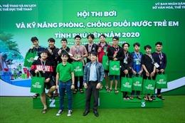 Khai mạc Hội thi bơi, chống đuối nước trẻ em tỉnh Phú Yên năm 2020