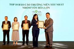 Novaland nhận cú đúp Giải thưởng Doanh nghiệp niêm yết 2020