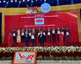 Dai-ichi Life Việt Nam lọt vào top 100/500 Doanh nghiệp lớn nhất Việt Nam năm 2020