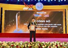TST đoạt giải Top 10 công ty du lịch uy tín Việt Nam năm 2020