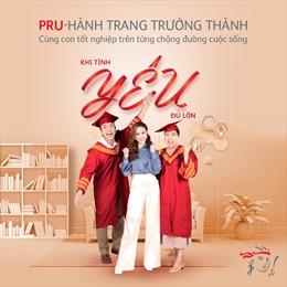 Prudential ra mắt sản phẩm giáo dục 'Pru-Hành trang trưởng thành'
