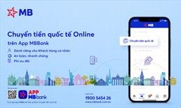 Ra mắt tính năng 'Chuyển tiền quốc tế online' trên App MBBank