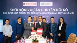 Tập đoàn Thạch Bàn và Novaon triển khai chuyển đổi số dữ liệu