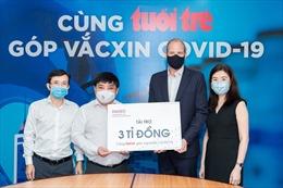 Diageo Việt Nam tài trợ 3 tỷ đồng hỗ trợ tiêm chủng miễn phí