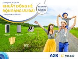 Sun Life Việt Nam khuyến mại dành  cho  khách hàng của ACB