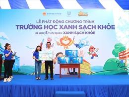Triển khai chương trình 'Trường học Xanh - Sạch - Khỏe' năm 2021