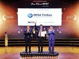Nền tảng chuyển đổi số của MISA lọt Top 10 tiêu biểu nhất Sao Khuê mùa giải 2021